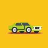 Vector illustration fast car. Cartoon of illustration fast car Stock Image