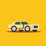 Vector illustration fast car. Cartoon of illustration fast car Stock Photography