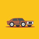 Vector illustration fast car Royalty Free Stock Image