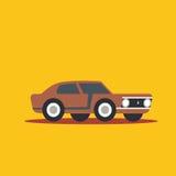Vector illustration fast car. Cartoon of illustration fast car Royalty Free Stock Image