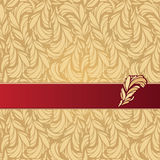 Vector Illustration of Feathers ornament Royalty Free Stock Images