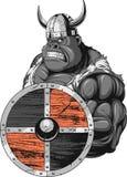 Fierce Gorilla Viking Royalty Free Stock Image