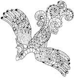 Vector illustration of the Firebird. Peacock Stock Photo