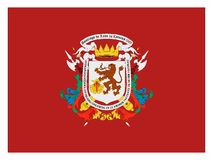 Flag of the City of Caracas royalty free stock images