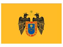 Flag of the City of Lima royalty free stock images