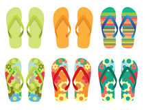 Vector Illustration of Flip flop Royalty Free Stock Photo