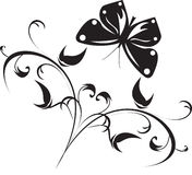 Vector illustration of floral Stock Photos