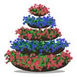 Vector illustration of floral arrangement Royalty Free Stock Images