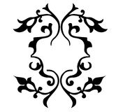 Vector illustration of floral ornament Stock Images