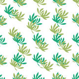 Vector illustration of floral ornamental background Royalty Free Stock Images