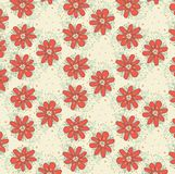 Vector floral background, pattern Royalty Free Stock Photos