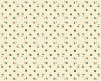 Vector floral background, pattern Stock Images
