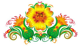 Vector Illustration of flowers. Royalty Free Stock Photos