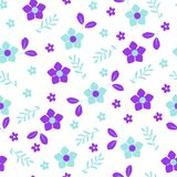 Flowers background for design vector illustration