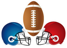 Football Helmet Design Stock Images