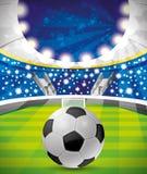 Vector illustration. Football. Stock Photo