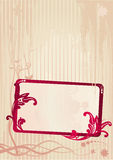 Vector illustration of a frame Royalty Free Stock Images