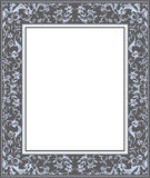Vector illustration frame of classic ornament. Vintage style Frame for your text with classic ornament Royalty Free Stock Image