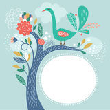 Vector illustration, frame with place for your text Royalty Free Stock Images