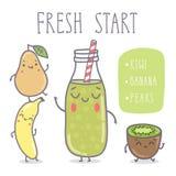 Vector illustration - Fresh start. Vector hand draw illustration - Fresh start stock illustration