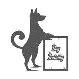 Vector Illustration Funny Dog Stock Photo