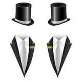 Vector illustration of gay couple wedding Stock Image