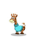 Vector illustration of giraffe Royalty Free Stock Image