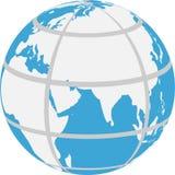 Vector illustration of globe Stock Photo