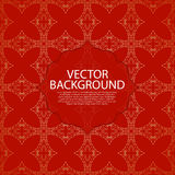 Vector illustration of a gold line background invitation Stock Photo