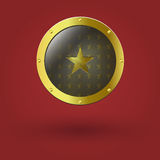 Vector illustration of gold seal Royalty Free Stock Photos