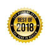 Best of 2018 stock illustration