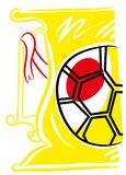 Soccer cup vector eps stock illustration