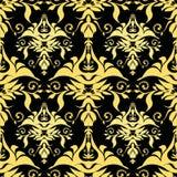 Vector illustration golden royal pattern Stock Photos