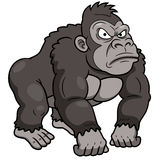 Cartoon Gorilla Royalty Free Stock Images