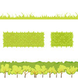 Vector Illustration Of Grass_4 Stock Photos