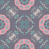 Vector illustration. Gray background with pink Royalty Free Stock Images