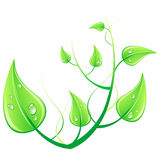 Vector illustration green enviroment concept Stock Photo