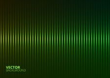 Vector Illustration of a Green Music Equalizer Royalty Free Stock Images