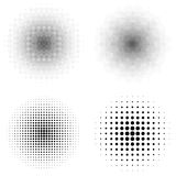 Vector illustration of a halftone Royalty Free Stock Photography