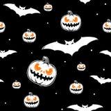 Vector illustration of halloween celebration seamless pattern Stock Photo