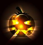 Vector illustration of a Halloween pumpkin Stock Images