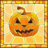 Vector illustration of Halloween pumpkins. Stock Photos