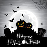 Vector illustration on a Halloween theme. Stock Photography