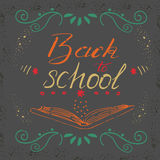 Vector illustration with hand-drawn lettering vector illustration