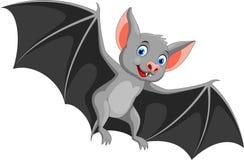 happy bat cartoon flying stock photography - Bat Cartoon