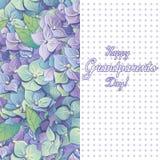 Vector illustration. Happy grandparents day. Stock Photo