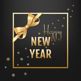 Vector illustration of happy new year Royalty Free Stock Photo