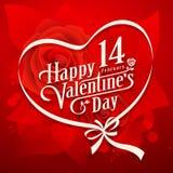 Vector illustration Happy Valentine day Stock Image