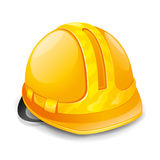 Vector illustration. Hardhat. Stock Image