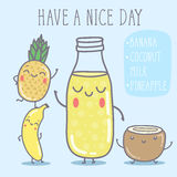 Vector illustration - Have a nice day. Vector hand draw illustration - Have a nice day Stock Image